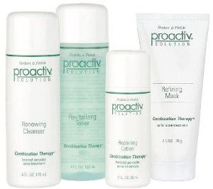 Proactiv 4pcs 60days Kit- Cleanser/toner/lotion/refining Mask
