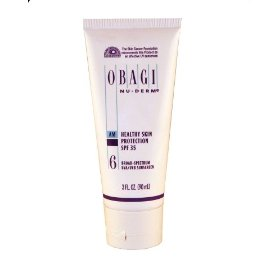 Obagi nu-derm #6 am healthy skin protection spf 35 broad-spectrum uva/uvb sunscreen, 3-ounce tube