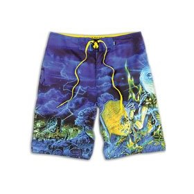 Vans ltd edition iron maiden boardshorts - men's