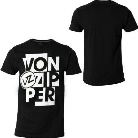 Von zipper alienate t-shirt - short-sleeve - men's
