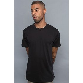 Obey the blank everyday crew neck tee in black,t-shirts for men