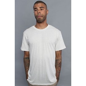 Obey the blank everyday crew neck tee in heather stone,t-shirts for men
