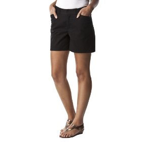 Cherokee® women's elastic back core short - black