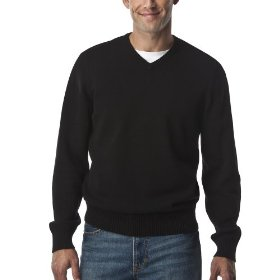 Merona® opp sweater - black