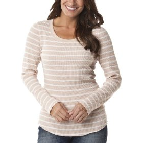 Merona® women's thermal top - mochachino/polar bear