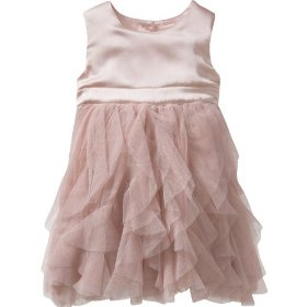 Gap tulle petal dress