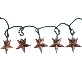 Smith & hawken® 10 ct. metal star string lights