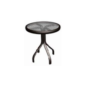 Agio international co., inc 18' rnd end table aluminum/steel patio tables