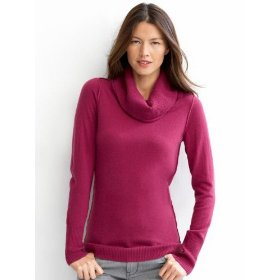 Banana republic italian spun modern turtleneck