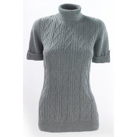 Metrostyle cabled turtleneck sweater