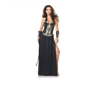 Sexy halloween costumes adult brown xena roman greek warrior princess historical party theme costume