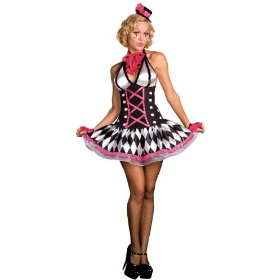 Sexy harlequin honey costume
