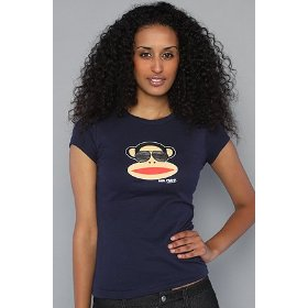 Paul frank the aviator julius tee in navy,t-shirts for women