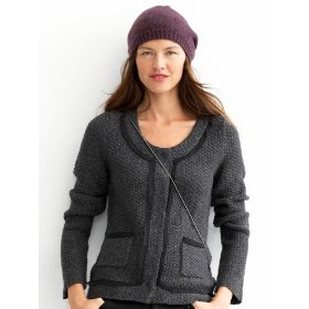 Banana republic petite priscilla sweater jacket