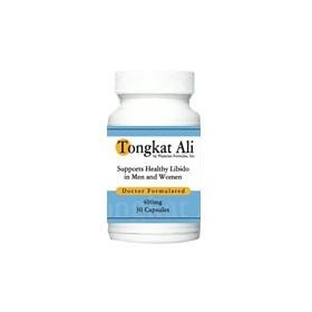 Tongkat ali 200 mg - 60 capsules - endorsed by author of natural sex boosters, ray sahelian, m.d.