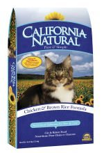 California Natural Chicken & Brown Rice Cat and Kitten Dry Cat Food
