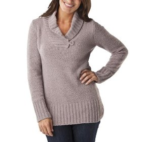 Merona® women's chenille shawl collar pullover sweater - tan