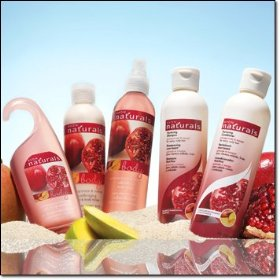 Avon pomegranate and mango 5 piece bath and body collection!