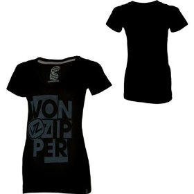 Von zipper alienate t-shirt - short-sleeve - women's