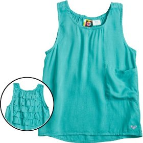 Kids - roxy shimmy tank shirt