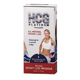 Hcg platinum - homeopathic weight loss program for men and women, 30 day supply