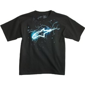Kids - alpinestars light year t shirt