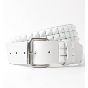Vurt 3 row white belt