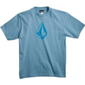 Kids - volcom the stone t shirt airforce blue m