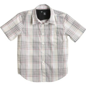 Kids - volcom x factor plaid shirt gray l