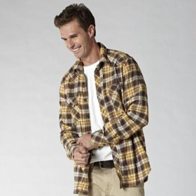 Fossil wesley western flannel shirt