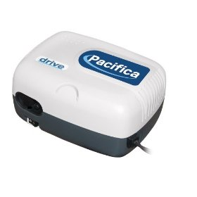 Drive medical deluxe pacifica nebulizer with powerful piston driven pump, white
