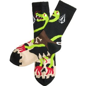 Kids - volcom f.a. ozzie right sock puppet-boys