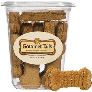 Gourmet Tails Bones with Sweet Potato Dog Treats
