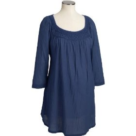 Old navy maternity smocked gauze tunics