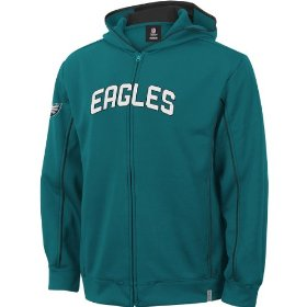 Reebok philadelphia eagles boys (4-7) captain hooded fleece