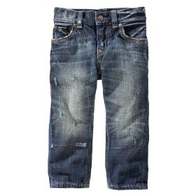 Gap playdate straight jeans (flap pocket medium wash)