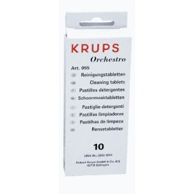 Krups 0055001 espresso/cappucino cleaning tablets