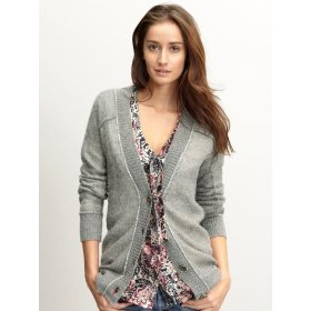 Banana republic heritage lined alpaca cardigan