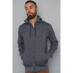 Rvca the rvca fleece colors sweatshirt in navy hood ,sweatshirts for men