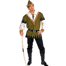 Sherwood robin hood adult costume