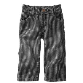 Gap railroad stripe jeans