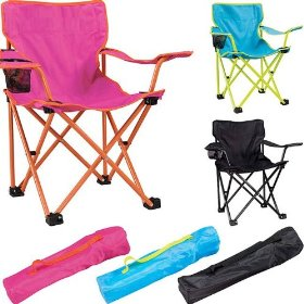 Fuchsia & orange children's captain chair