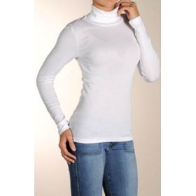 Michael stars supima long sleeve turtleneck (8748)