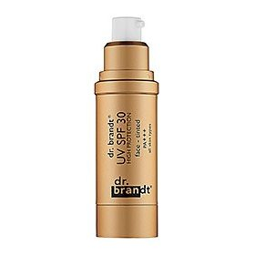 Dr. brandt skincare uv spf 30 high protection face tinted