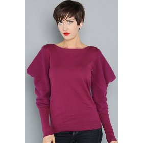 Wesc the merete sweater in velvet plum,sweaters for women