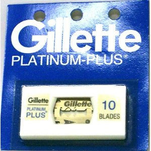 Gillette platinum plus blades 10 ct.