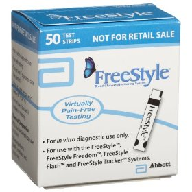 Freestyle mail order test strips, 50 ct