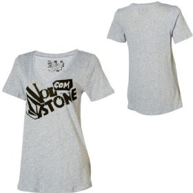 Volcom what a knock out boyfriend t-shirt - short-sleeve - women's