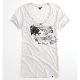 Roxy sun mountain v-neck tee