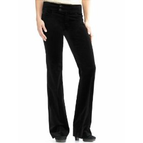 Banana republic sloan fit velvet flared pant